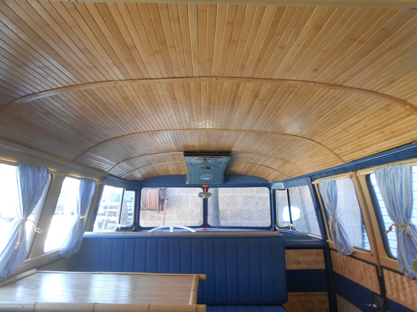 Bamboom Wagens Bamboo Interiors For Vintage Vw S