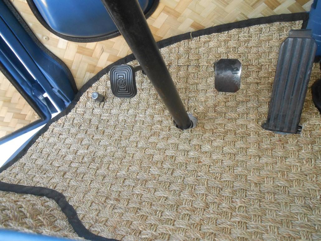 vwe bus natural floor mats